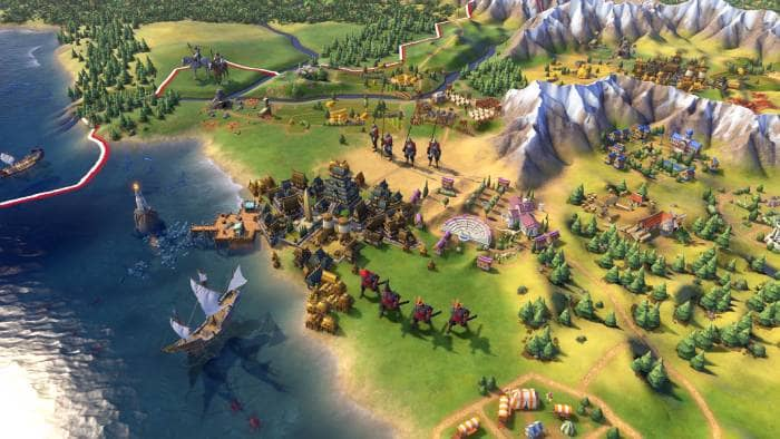 Sid Meier's Civilization VI - the quay