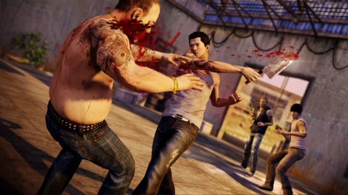 Sleeping Dogs - shooting