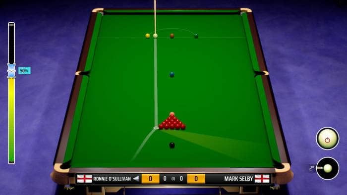 Snooker 19 - gameplay