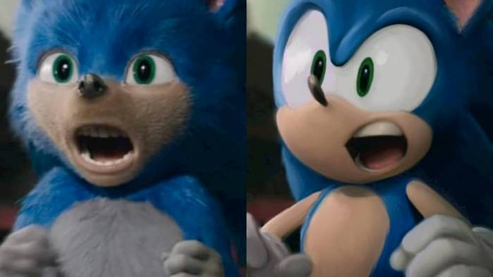 sonic the movie difference