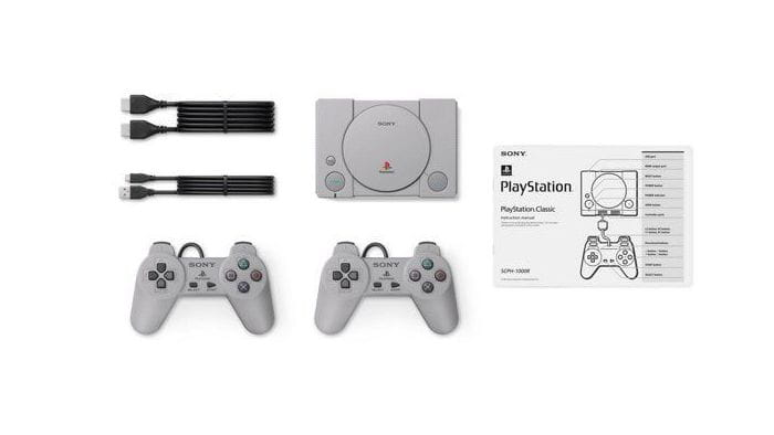 Sony Playstation Classic - set