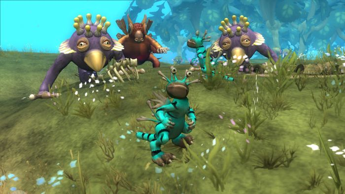 Spore - characters