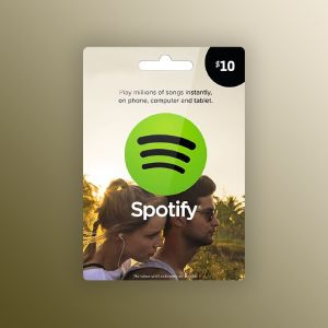 Spotify Gift Card 10 USD UNITED STATES