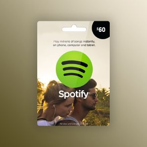 Spotify Gift Card 60 USD UNITED STATES