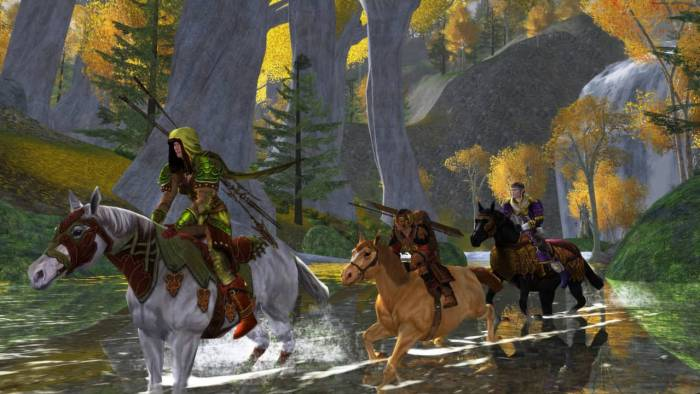 Lord of the Rings Online Game