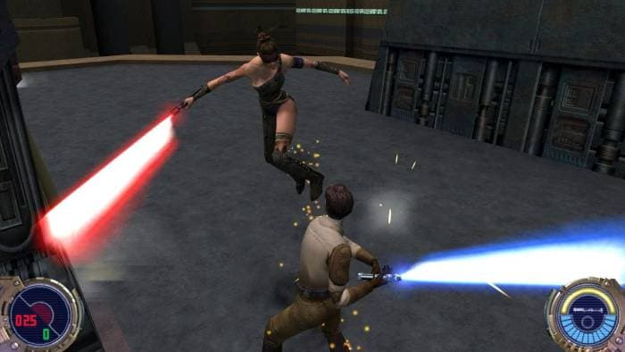 Star Wars Jedi Knight II: Jedi Outcast - gameplay