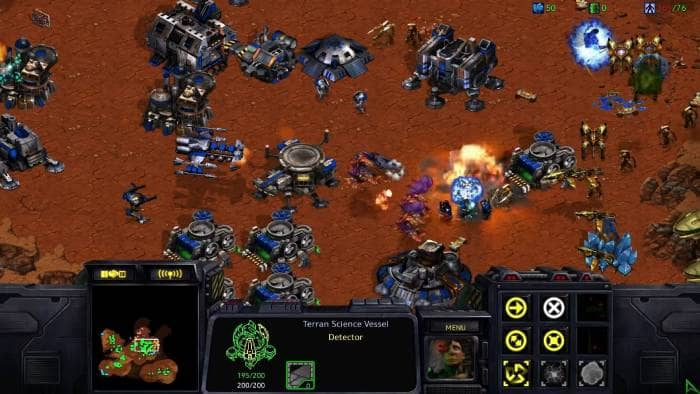 Starcraft Remastered game screen