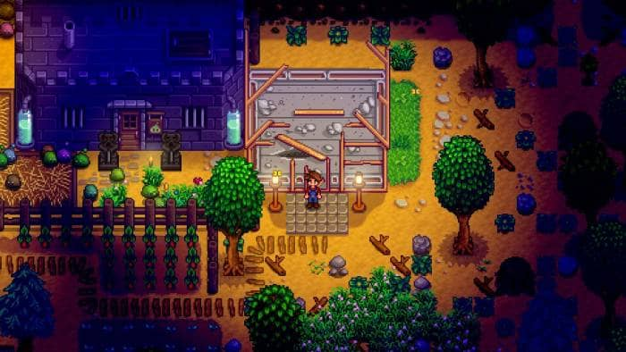 Stardew Valley - work at night