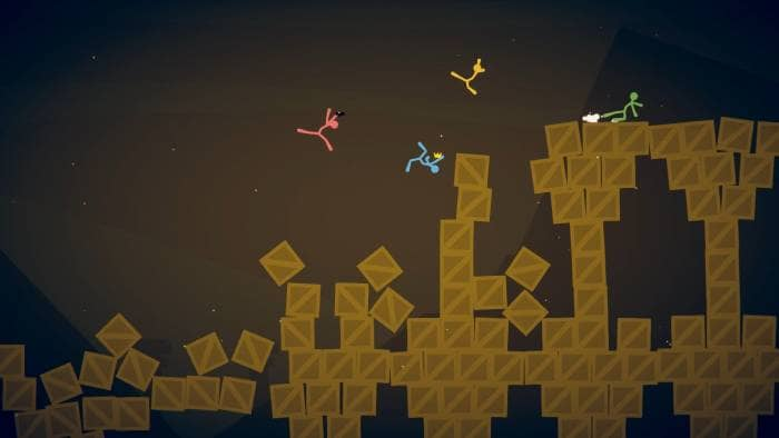 Stick Fight: The Game - gameplay