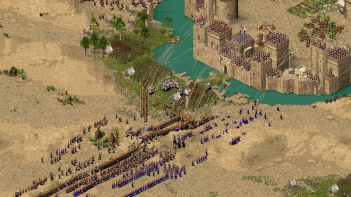 Stronghold Crusader HD - a war