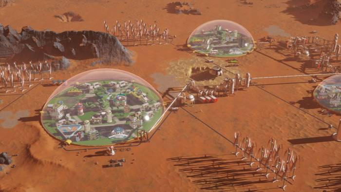 Surviving Mars game screenshot