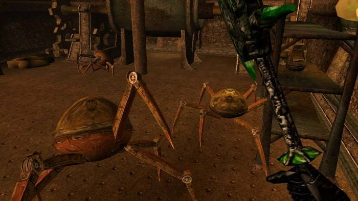 The Elder Scrolls III: Morrowind GOTY - spider