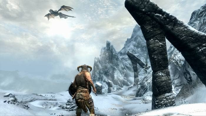 The Elder Scrolls V: Skyrim - dragon