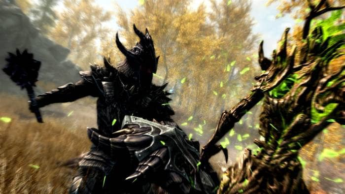 The Elder Scrolls V: Skyrim - fighting