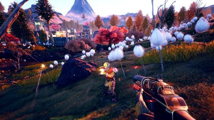 The Outer Worlds - fighting