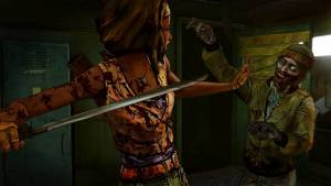 The Walking Dead: Michonne - A Telltale Miniseries - fighting