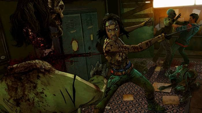 The Walking Dead: Michonne - A Telltale Miniseries - protagonist