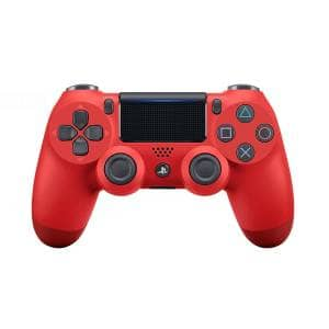Wireless Gamepad for Sony PS4 Plastic Red