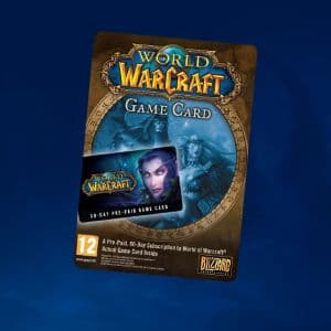 World of Warcraft Time Card 30 Days