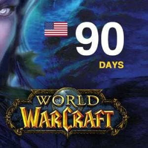 World of Warcraft Time Card 90 Days