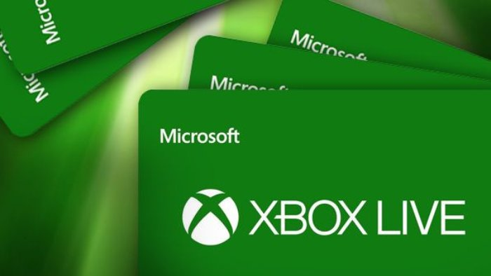XBOX Live Gift Cards - main
