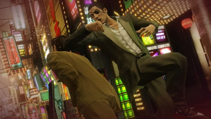 Yakuza 0 - fighting