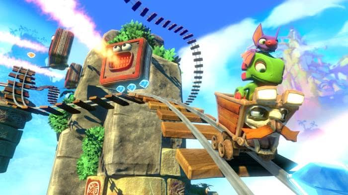 Yooka-Laylee - gameplay